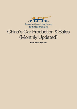 	Monthly Update of China's Car Production & Sales